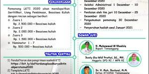 Lomba Karya Tulis Ilmiah Tingkat Nasional 2020 Akper Alkautsar dan Stainu Temanggung